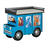Clinton Fun Series Pediatric Exam Table: Outback Buggy with Aussie Animal Pals