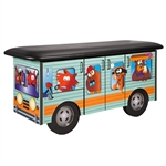 Clinton Fun Series Pediatric Exam Table: Cool Camper
