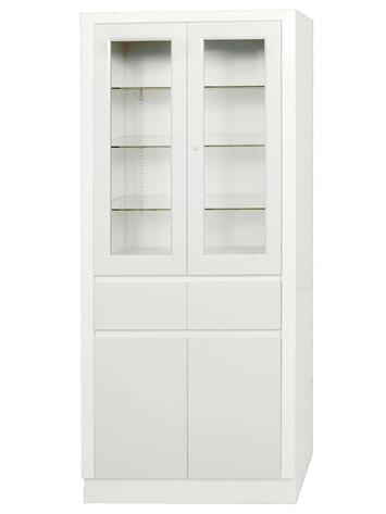 Umf Large Instrument Cabinets Storage Supply Cabinet With Upper Section 2 Doors Drawers