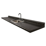 "Clinton 72P 72"" Postform Countertop"