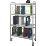 "30 - 2"" Binder Capacity Ring Binder Cart"