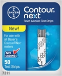 Contour NEXT Blood Glucose Test Strips (Box of 50)