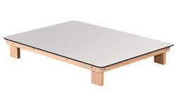 Clinton Floor Style Powder Board Table