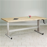 Clinton Group Therapy Table w/ Hand Crank Height Adjustment