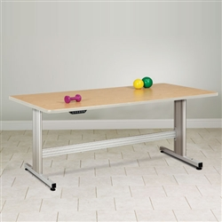 Group Therapy Table with Electric Height Adjustment