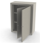 "UMF Double Door, Double Lock Narcotic Cabinet, 2 Shelves, 23-5/8""W x 31-1/2""H x 11-13/16""D"