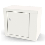 "UMF Single Door, Single Lock Narcotic Cabinet, 1 shelf, 14""W x 12""H x 8""D"