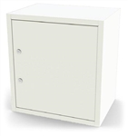 "UMF Single Door, Double Lock Narcotic Cabinet, 5 Shelves, 18""W x 20.25""H x 13.5""D"