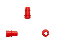 Silicone Eartip 3-5 mm Flanged (25 pc)