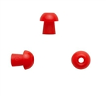 Silicone Eartip 10 mm Mushroom - Red (100 pc)