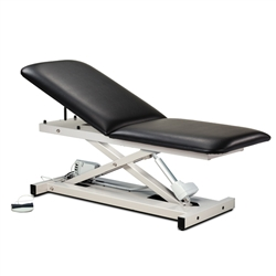 Open Base Power Table w/ Adjustable Backrest