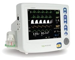 Criticare nGenuity 8100EP1 Patient Monitor w/ CO2 & Printer
