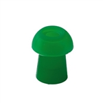 Racecar, MI24 & MI26 Eartips, Green - 9 mm (4 Pack)
