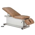Power Examination Table with Adjustable Backrest and Drop Section