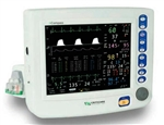 Criticare nCompass 81H031PD Vital Signs Monitor w/ 3 Channel IBP, CO2, Printer