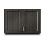 "Clinton 8336 Fashion Finish 36"" Wall Cabinet w/ 2 Doors"