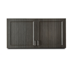 "Clinton 8348 Fashion Finish 48"" Wall Cabinet w/ 2 Doors"