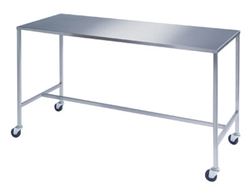 Lakeside Stainless Steel Instrument Tables w/ H-Brace