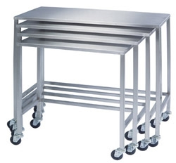 Lakeside Stainless Steel Instrument Tables (Nesting)