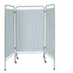UMF Vinyl Fire Retardant Curtain (white set of 3 panels)