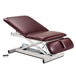 Extra Wide Bariatric Power Table with Adjustable Backrest & Drop Section