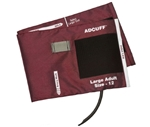 ADCUFF & Bladder, 1 Tube w/891F, Lg Adult, Burgundy