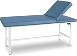 "Winco Treatment Exam Table w/Adjustable Backrest - Height 30"" (Standard)"