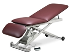 Clinton E-Series, Power Table with Adjust. Backrest and Drop Section