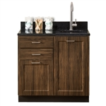"Clinton 8636 Fashion Finish 36"" Base Cabinet with 2 Doors"