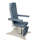 "UMF Phlebotomy Chair - Power Hi-Lo & Power Back, 500 lb capacity, Seat height 23""-38"" With 2 Function Hand Control"