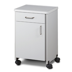 Clinton Mobile, Molded Top Bedside Cabinet