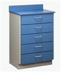 ClintonClean™ Treatment Cabinet with 5 Drawers