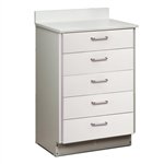 ClintonClean Treatment Cabinet with 5 Drawers