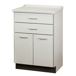 Clinton Molded Top Treatment Cabinet with 2 Doors & 2 Drawers