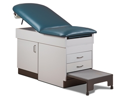 Cabinet Style Space Saver Treatment Table w/ Step Stool (Dock to Dock)
