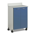 Clinton Mobile Treatment Cabinet with 2 Doors