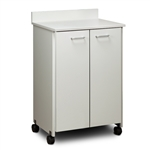 ClintonClean Mobile Treatment Cabinet with 2 Doors