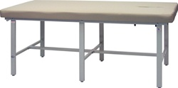 "Winco Bariatric Table (std. ht. 30"") w/Face Cutout"