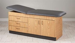 Eco-Friendly Cabinet Style Treatment Table (3 Drawers)