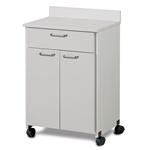 Clinton ETA Mobile Treatment Cabinet with 2 Doors and 1 Drawer