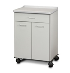 Clinton 8921-A Mobile Treatment Cabinet with 2 Doors & 1 Drawer