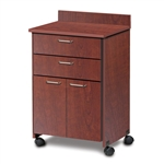 Clinton ETA Mobile Treatment Cabinet with 2 Doors & 2 Drawers