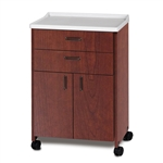 Clinton Molded Top Treatment Cabinet w/ 2 Doors & 2 Drawers