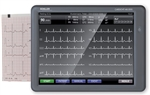 Cardiovit MS-2010 Touch Screen ECG Machine