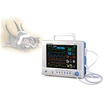 Mindray PM9000VET SpO2, w/recorder, Multi-Gas/O2 auto ID, CF card