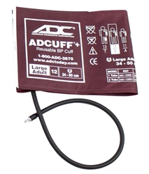 ADview 2 Large Adult Cuff - Burgundy (31-40 cm)