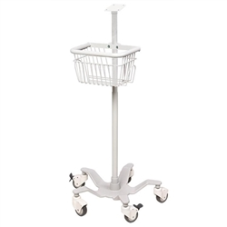 ADview 2 Mobile Stand with Basket