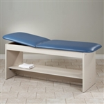 Style-Line Series Straight Line Treatment Table w/Shelf