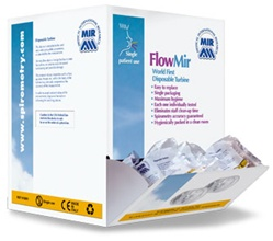 MIR FlowMir - 1 Box (60 Disposable turbines with mouthpieces)