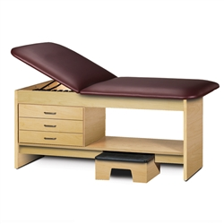 Clinton Laminate Treatment Table with Stool